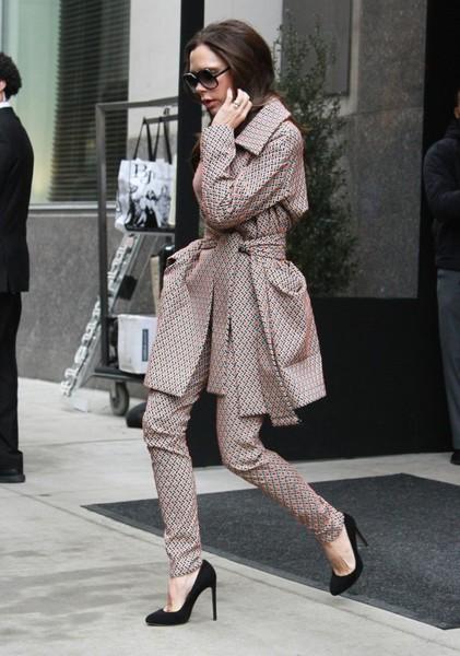 Victoria Beckham renuncia a los tacones!