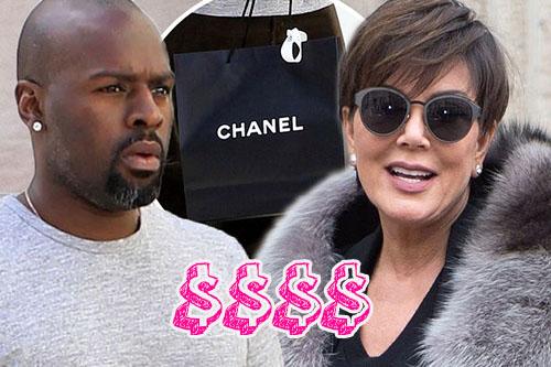 Kris Jenner paga mil dolares mensuales a Corey Gamble!