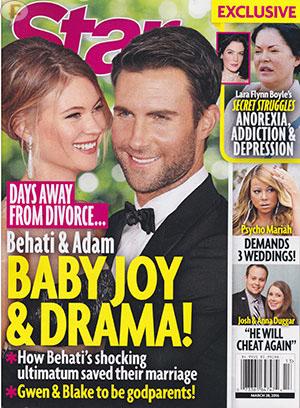 Adam Levine y Behati Prinsloo a punto de divorcio! [Star]