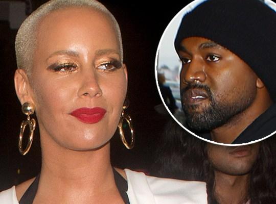 Amber Rose pide 10 millones por secretos de Kanye West