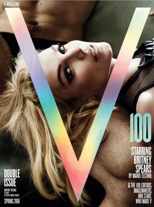 Britney Spears en V Magazine IRRECONOCIBLE!!