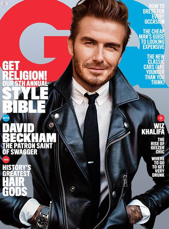 David Beckham: Me enfermo cuando dejo a mis hijos [GQ]