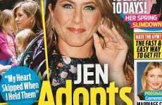 Jennifer Aniston Adopta dos niñas! [OK!]