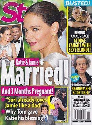 Katie Holmes y Jamie Foxx Casados! [Star]