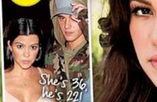Kourtney Kardashian embarazada de Bieber? [L&S]