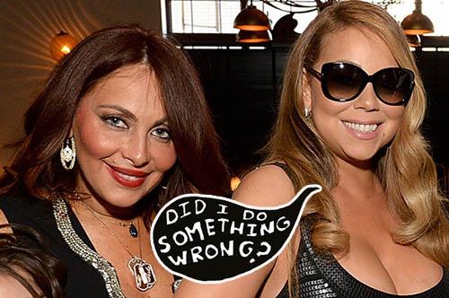 Oh boy! El entourage de Mariah Carey se desmorona!