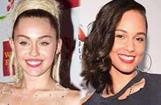Miley Cyrus y Alicia Keys: Jueces de The Voice