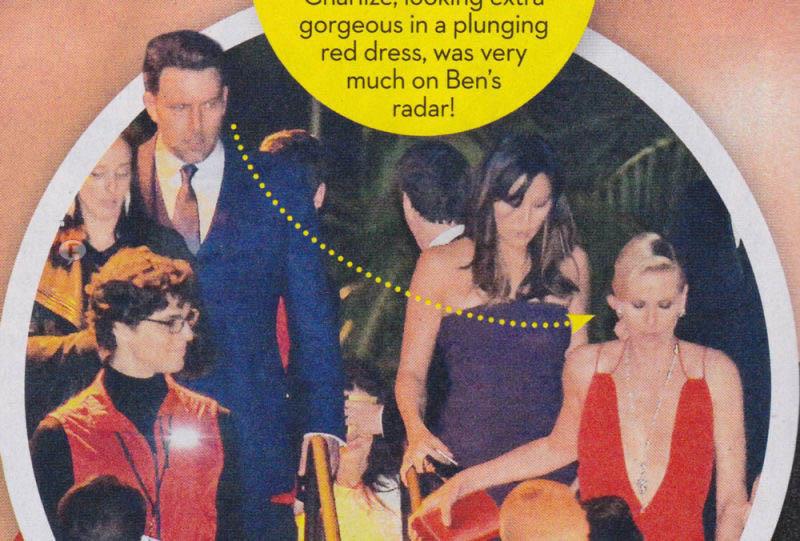 Charlize Theron & Ben Affleck tiene un romance! [OK!]