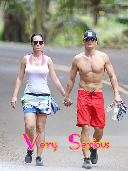 Katy Perry y Orlando Bloom: Muy serios!