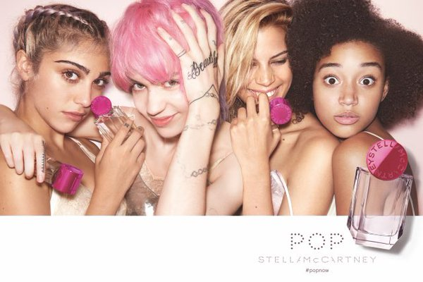 La hija de Madonna, Lourdes Leon campaña POP Stella McCartney