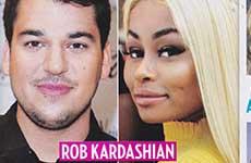 Rob Kardashian rescatado por el amor de Blac Chyna [Us]