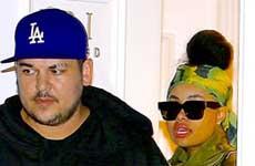 Rob Kardashian y Blac Chyna en reality show?