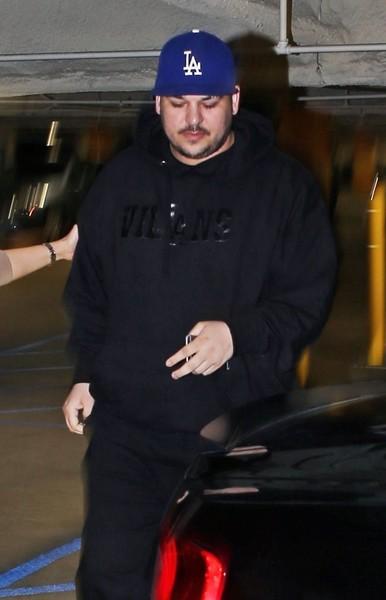 Rob Kardashian más delgado!! Ha perdido peso!!
