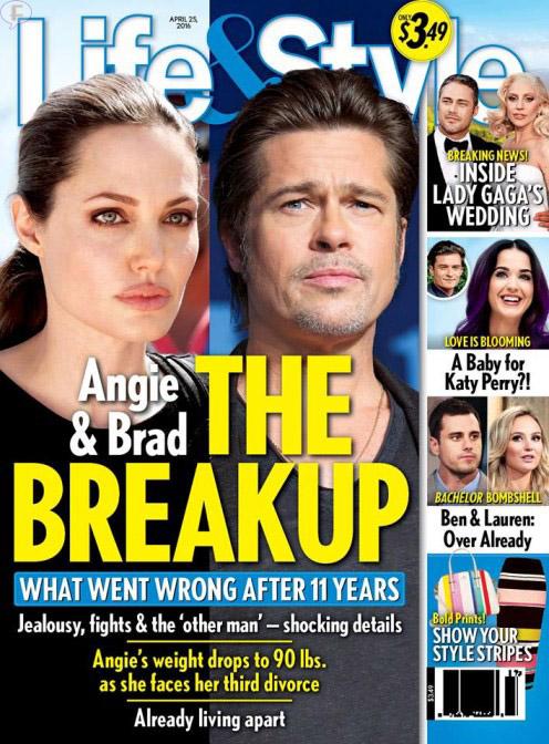Angelina y Brad: La separación [Life&Style]