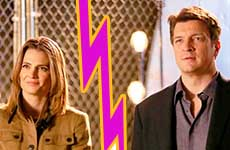 Castle Drama!! El rollo de Stana Katic y Nathan Fillion!