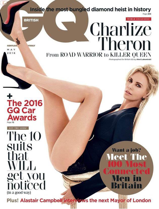 Charlize Theron en GQ y Fast 8