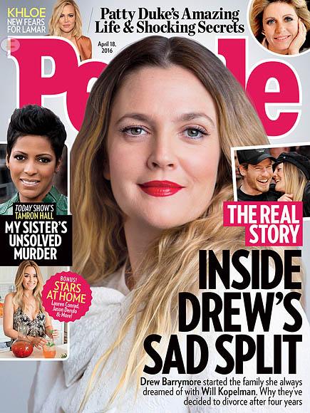 El Divorcio de Drew Barrymore [People]