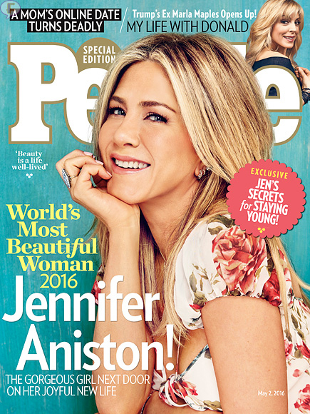 Jennifer Aniston: La Mujer más Hermosa del Mundo 2016