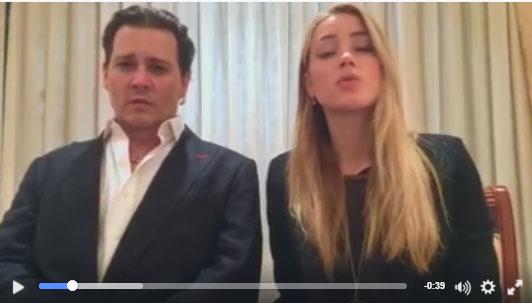 Johnny Depp y Amber Heard: disculpa a Australia