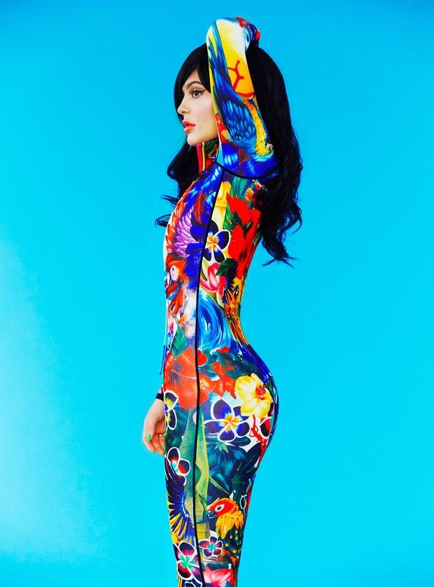 Kylie Jenner en Paper magazine - WTF? SCARY!!