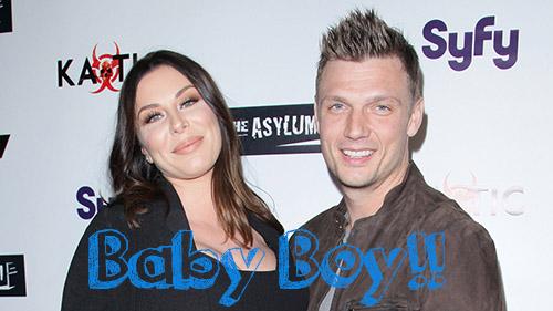 Nick Carter y Lauren tuvieron un niño!