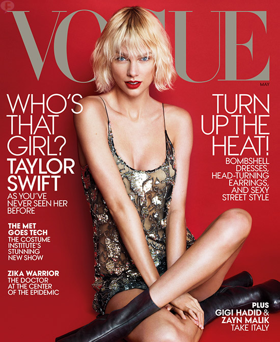 Taylor Swift: Vogue magazine [Mayo 2016]