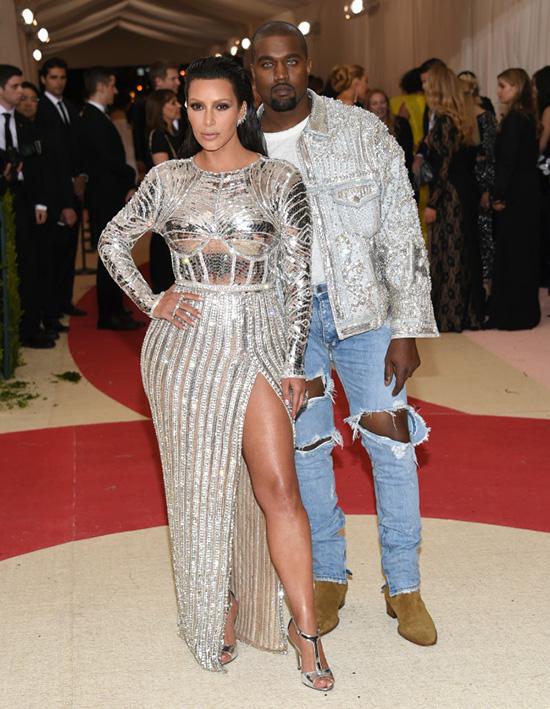 Kim Kardashian kanye west met gala 2016