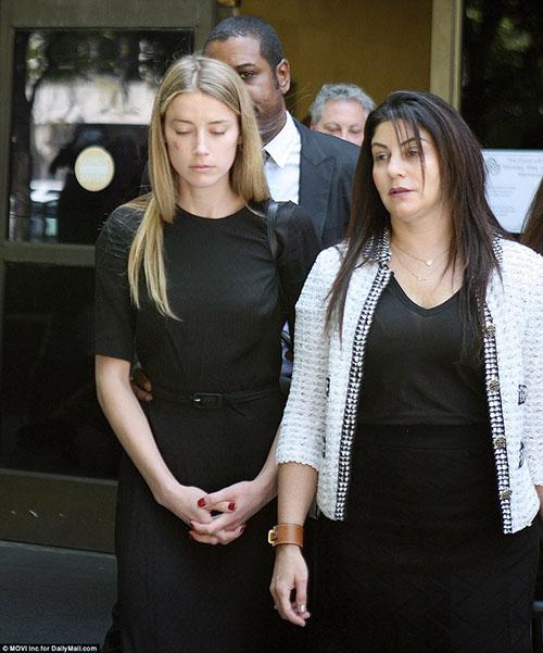Amber Heard sin evidencia de lesiones, según la policia