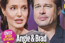 Angie y Brad: Divorcio de $400 millones! [OK!]