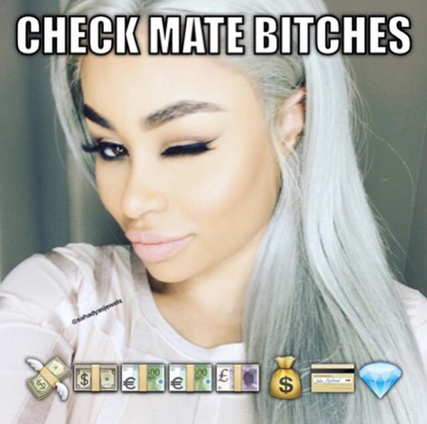 Blac Chyna embarazada de Rob Kardashian!! Memes!!