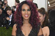 Kerry Washington Embarazada en el Met Gala 2016