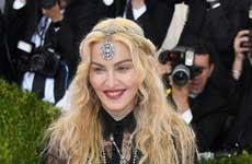 Madonna en el Met Gala 2016