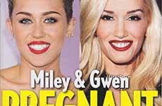 Miley Cyrus & Gwen Stefani novias embarazadas! [L&S]