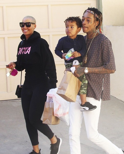 Amber Rose y Wiz Khalifa finalizan divorcio