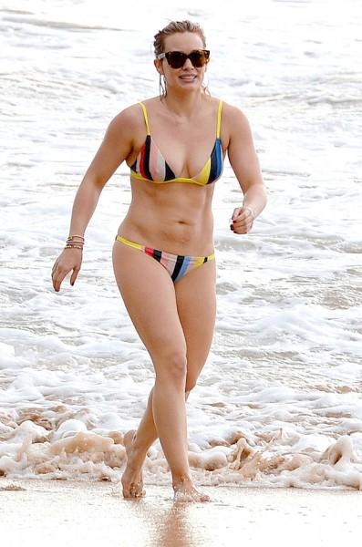Hilary Duff conforme con su cuerpo