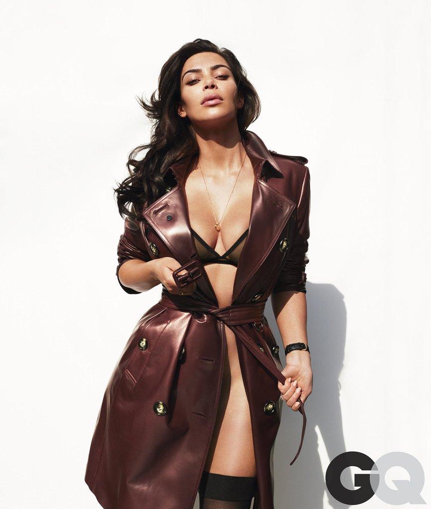 Kim Kardashian en GQ magazine