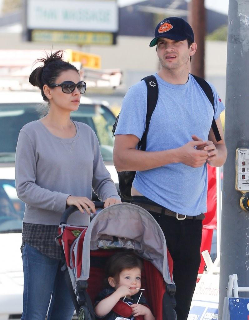 Ashton Kutcher y Mila Kunis esperan segundo hijo