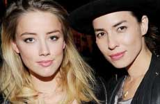 La ex novia de Amber Heard, Tasya van Ree la defiende