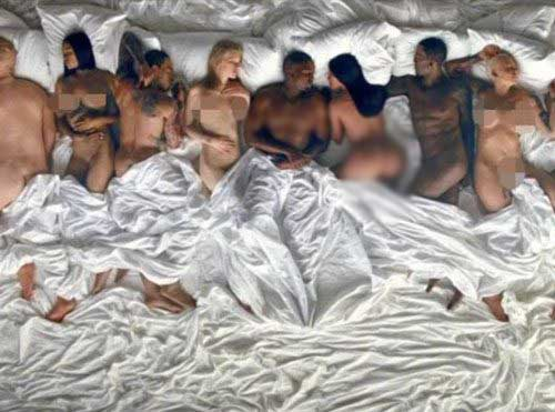 Demandaran a Kanye West por video Famous? Nah!