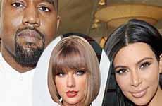 Kim Kardashian: Taylor Swift sabía de la canción de Kanye West
