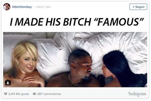 Meme: Paris Hilton hizo famosa a Kim Kardashian LOL!