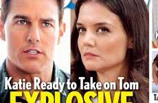 Katie Holmes y Tom Cruise pelea en la corte! [Life&Style]