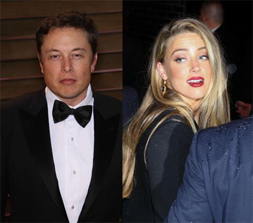 Amber Heard saliendo c... Amber Heard Elon Musk