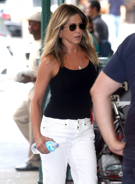 Jennifer Aniston: Harta de los rumores de embarazo