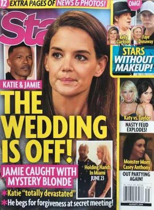 Katie Holmes y Jamie Foxx: la boda se cancela!! [Star]