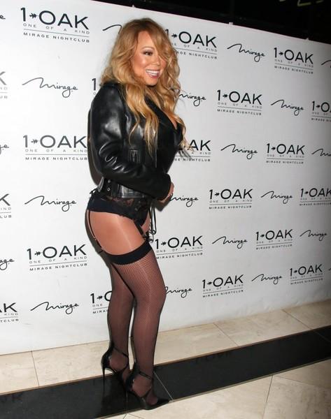 Mariah Carey al natural! en Capri