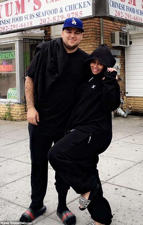 Blac Chyna y Rob Kardashian esperando gemelos?