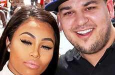 Blac Chyna y Rob Kardashian tendran una niña! What?