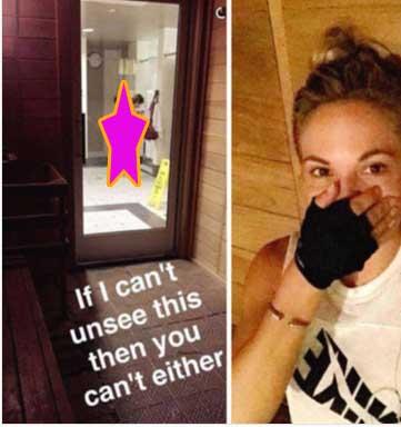 Conejita Playboy publica foto de extraña desnuda para burlarse