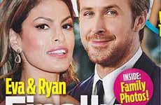 Eva Mendes y Ryan Gosling finalmente casados! [OK!]
